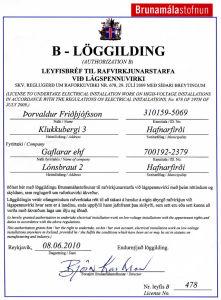 B-löggilding125
